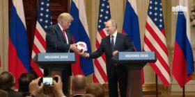 Putin-Trumpit: Topi është në dorën tënde