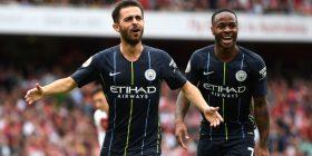 Bernardo Silva thellon epërsinë e Cityt ndaj Arsenalit