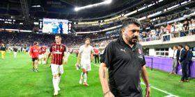 Gattuso i pakënaqur pas fitores ndaj Barcelonës: Mbrojtja është mirë, por vuajtëm shumë