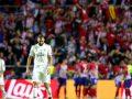 Reagon Benzema për ta barazuar rezultatin ndaj Atleticos
