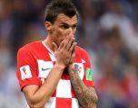 Mandzukic pensionohet nga Përfaqësuesja e Kroacisë