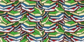 A mund ta gjeni stilolapsin e fshehur në mesin e dhjetëra librave? (Foto)