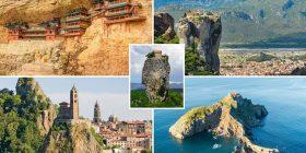 Objektet më të vjetra në botë të ndërtuara në vende të pazakonta (Foto)