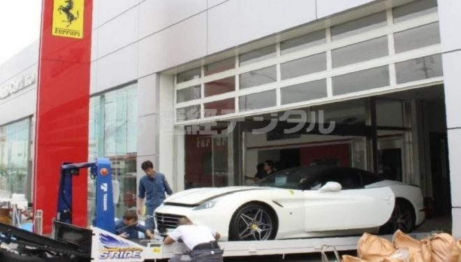 Uragani 'Jebi' që goditi Japoninë, shkatërroi jo një por 51 Ferrari