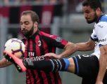 Milani nuk arrin më shumë se një barazim ndaj Atalantas në San Siro