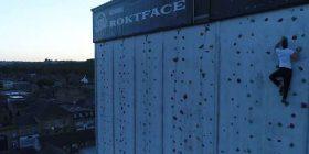 Ngjitet në murin më të lartë në Britani, pa përdorur pajisje mbrojtëse (Video)