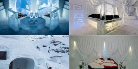 Brenda hoteleve ku gjithçka është e ndërtuar nga akulli (Foto)