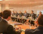 Haradinaj takon përfaqësuesit e subjekteve politike shqiptare në Mal të Zi