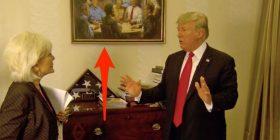 Piktura e pëlqyer nga Donald Trump tanimë gjendet në Shtëpinë e Bardhë (Foto)
