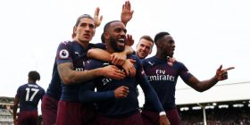 Notat e lojtarëve: Fulham 1-5 Arsenal, Lacazette më i miri në fushë – vlerësim i lartë edhe për Xhakën dhe Mustafin
