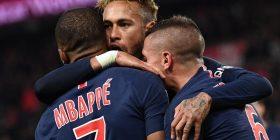 Mbappe poker, PSG shkatërron Lyonin