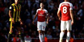 Xhaka për herë të parë kapiten i Arsenalit në Ligën Premier