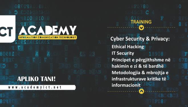 ICT Academy trajnime në Cyber Security & Privacy
