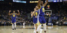Golden State edhe pa Curryn të fortë për Atlantan