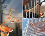 Prezantohen dronët që mund të shpëtojnë qytetarët e ngujuar në ndërtesat e larta, të kapluara nga zjarri (Foto)