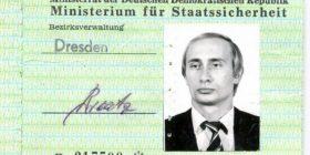 Zbulohet karta e identitetit kur Putin ishte në policinë sekrete gjermane