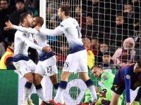 Tottenhami barazon me Barcelonën dhe kalon në mesin e 16 më të mirave të Evropës