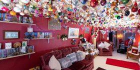 Gjyshja shpenzoi 15 mijë euro për të dekoruar tavanin e dhomës për festat e fundvitit (Foto)