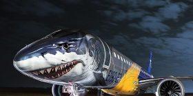 Aeroplanët me ilustrimet që i dallojnë prej të tjerëve (Foto)