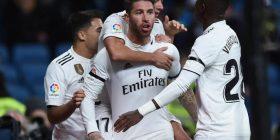 Hazard titullar bashkë me Benzeman dhe Rodrygon – Bale, Vinicius dhe Asensio në stol