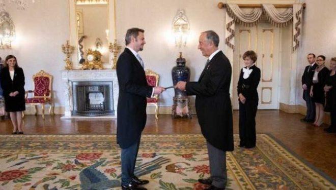 Kosova me Ambasadë në Portugali