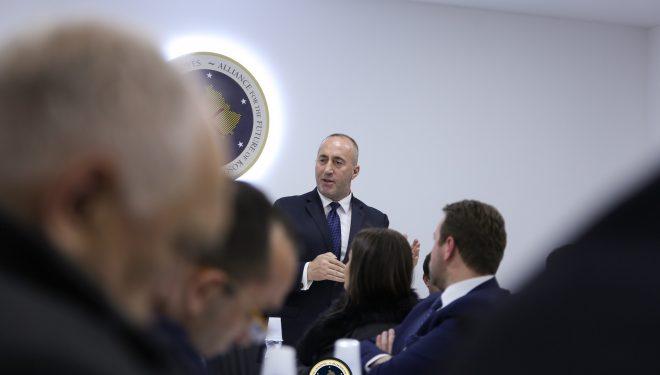 Haradinaj: Nuk synojmë koalicion me PDK'në, VV'në dhe LDK'në