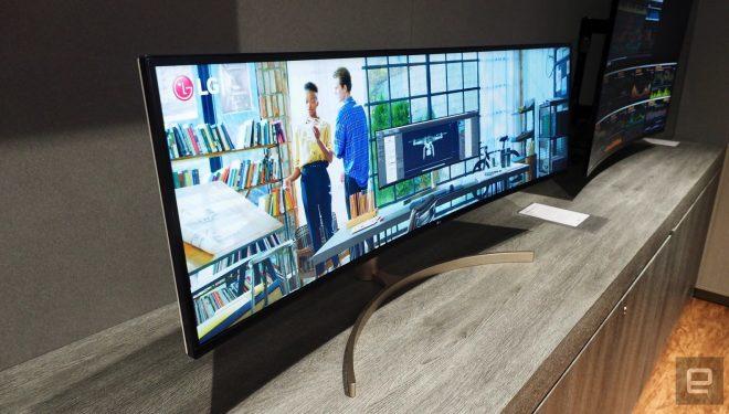 Lg prezanton një monitor super të gjerë 49-inç