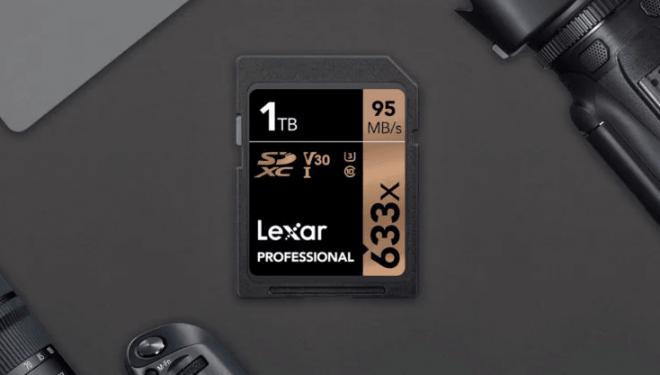 Lexar është kompania e parë që shet një kartë SD 1TB