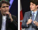 Ai ka talent, por i famshëm u bë falë ngjashmërisë me kryeministrin kanadez (Foto)