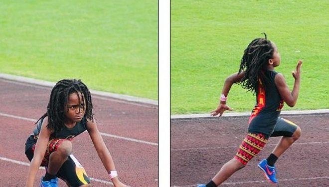 Shtatëvjeçari më i shpejtë në botë, vrapimin në 100 metra e arrin për 13.48 sekonda (Foto/Video)