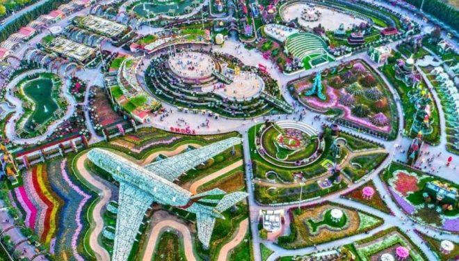 'Kopshti i mrekullive' në Dubai (Foto)