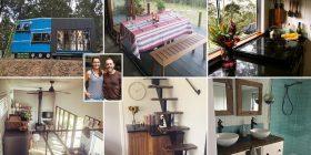 Të lodhur nga qiraja dhe faturat e rrymës, çifti britanik ndërtojnë shtëpinë ekologjike në natyrën e Australisë – për vetëm 32 mijë funte (Foto/Video)