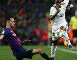 Edhe në statistika ishin të barabartë Barça dhe Reali
