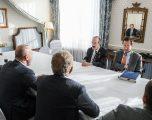 Engel e siguron Haradinajn se SHBA-të do ta mbështesin Kosovën edhe në të ardhmen
