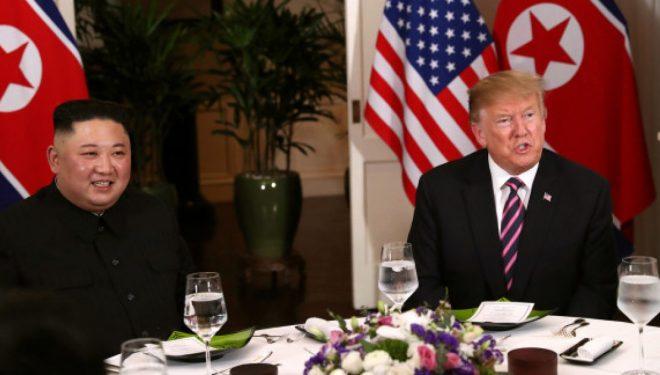 Zbulohet se çfarë përmbante menyja e darkës së Donald Trump dhe Kim Jong-un