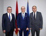 Takim i përbashkët i zëvendësministrave të Mbrojtjes së Kosovës, Shqipërisë dhe Maqedonisë së Veriut
