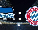 DFB Pokal: Formacionet zyrtare nga Hertha-Bayern në 1/8 e finales