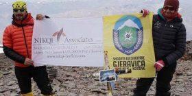 Alpinistët Arianit dhe Mrika Nikqi pushtuan majën më të lartë të Amerikës Jugore