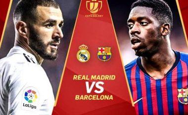 Finalisti i parë i Copa del Rey do të dihet në Santiago Bernabeu: Pesë përparësitë dhe mangësitë e Realit dhe Barçës