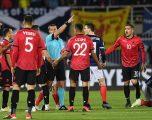 UEFA e ka dënuar Mavrajn, kapiteni i Shqipërisë jashtë në tri takime tejet të rëndësishme