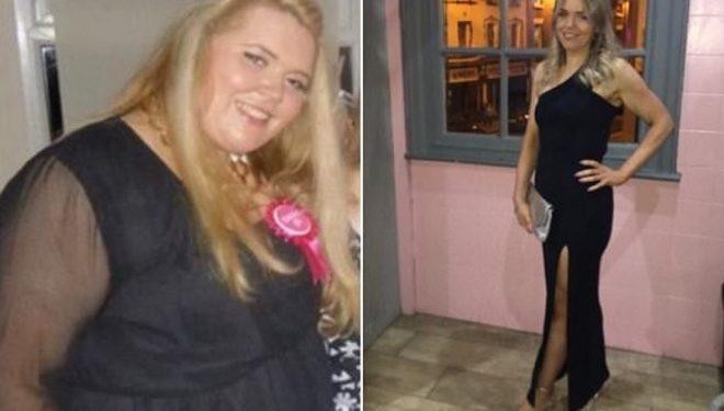 Pasi hoqi dorë nga ushqimi i pashëndetshëm, humbi gjysmën e peshës trupore (Foto)