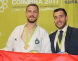 Karaqi fiton pikë Olimpike në Premier Ligën e Karatesë në Dubai