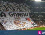 Tifozët e Realit thumbojnë Barçën me koreografinë në Santiago Bernabeu
