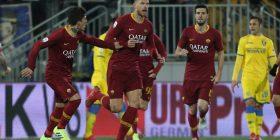 Roma fiton në frymën e fundit ndaj Frosinones