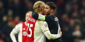 UEFA zyrtarisht hap hetim për kartonin e verdhë të Ramosit ndaj Ajaxit