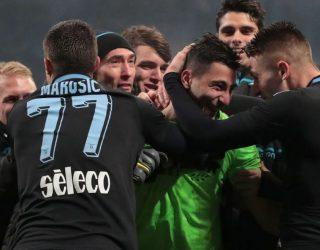 Lazio mbetet ekipi i vetëm italian që lufton në tri fronte për trofe