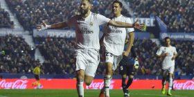 Reali fiton në udhëtim te Levante, ndeshja e radhës është ndaj Barcës