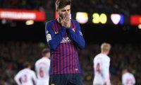 Pique: Duhet të përmirësohemi përpara ndeshjes ndaj Lyonit