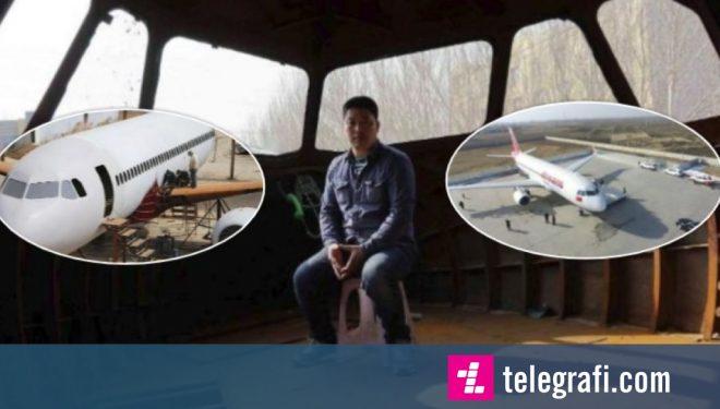 E pabesueshme: Burri kinez ndërton një aeroplan Airbus A320 – të madhësisë reale (Foto/Video)