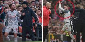 Henderson nuk i flet për dore Kloppit dhe Shaqirit në momentin e zëvendësimit, trajner gjerman e kritikon ashpër